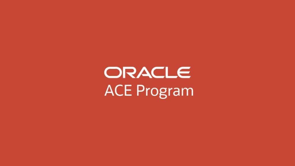 Photo of Oracle ACE Program !